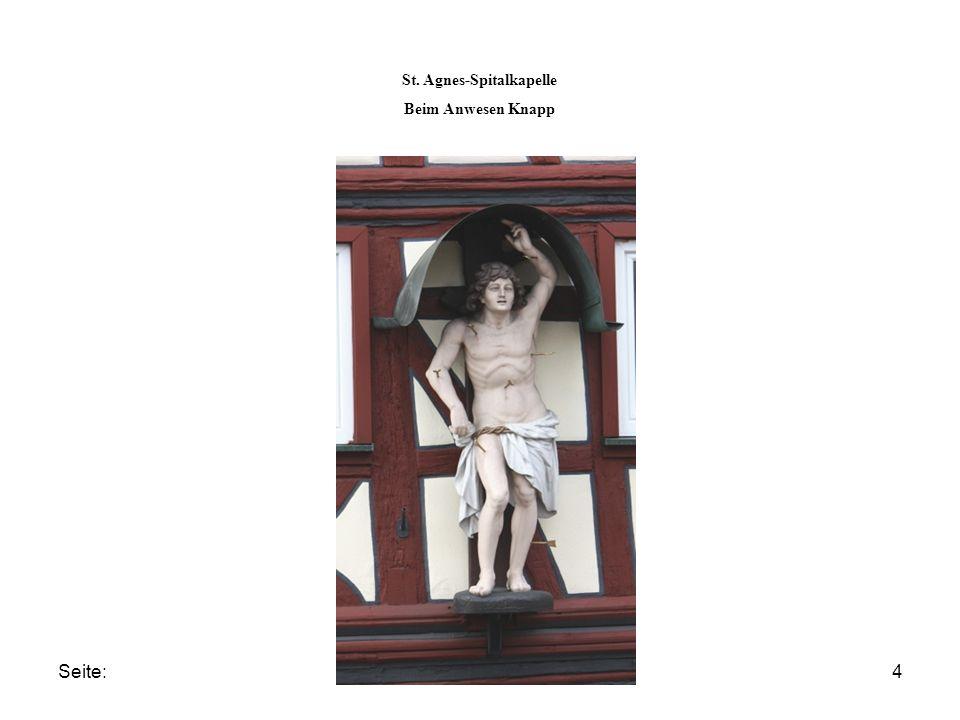 Seite:4 St. Agnes-Spitalkapelle Beim Anwesen Knapp