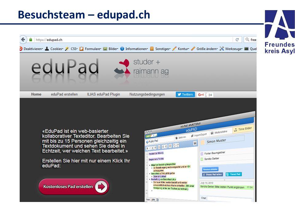 Besuchsteam – edupad.ch