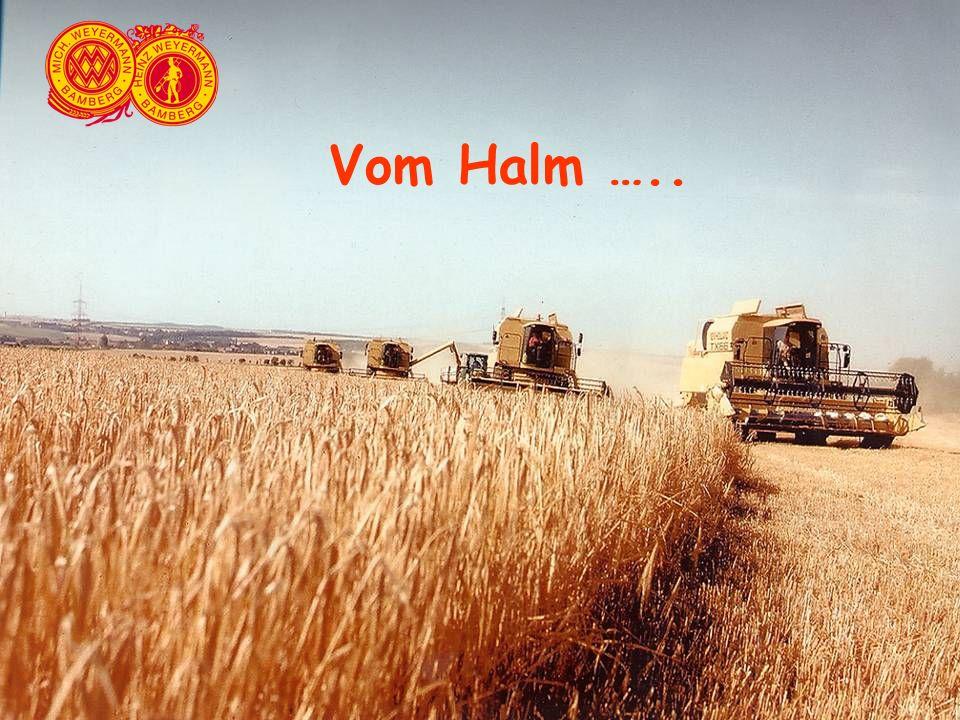 Mähdrescher Vom Halm …..