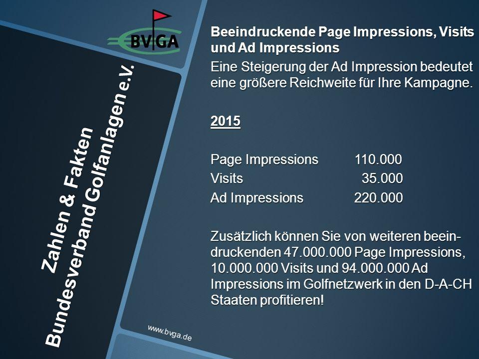 Zahlen & Fakten Bundesverband Golfanlagen e.V.