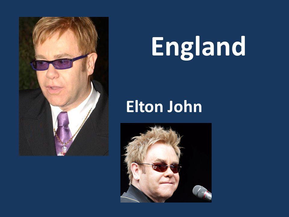 Elton John England