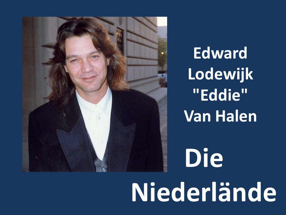 Edward Lodewijk Eddie Van Halen Die Niederlände