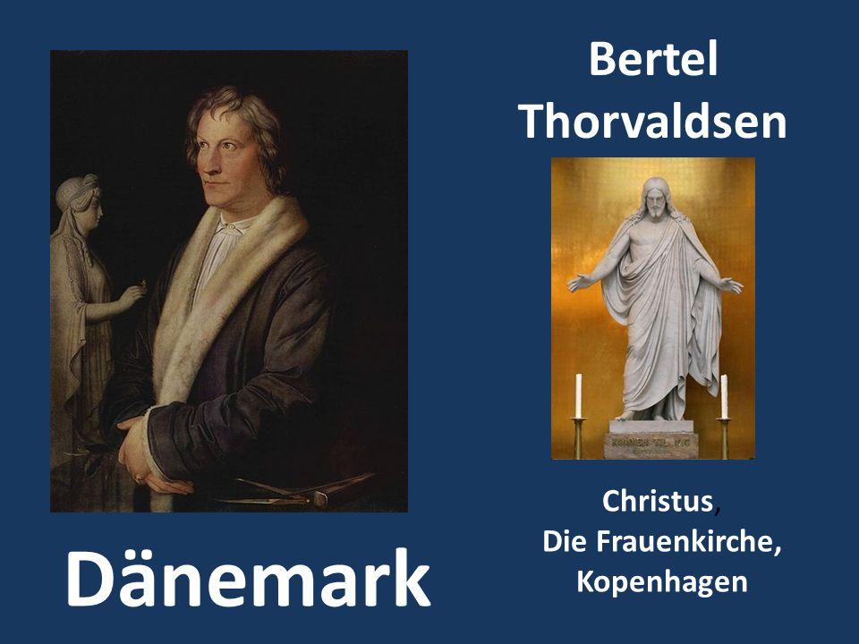 Bertel Thorvaldsen Christus, Die Frauenkirche, Kopenhagen Dänemark