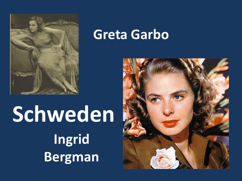 Greta Garbo Ingrid Bergman Schweden