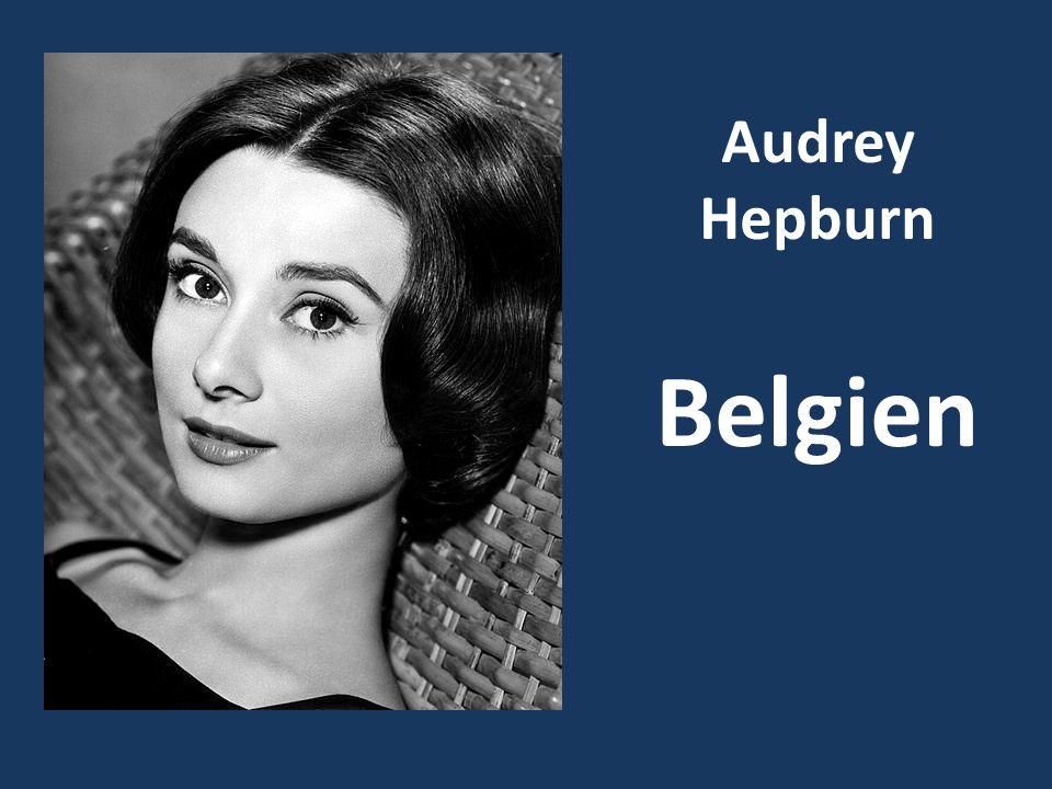 Audrey Hepburn Belgien