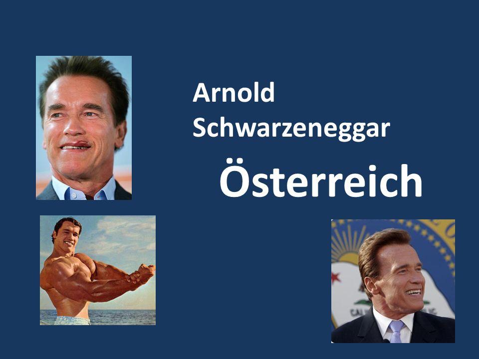 Arnold Schwarzeneggar Österreich