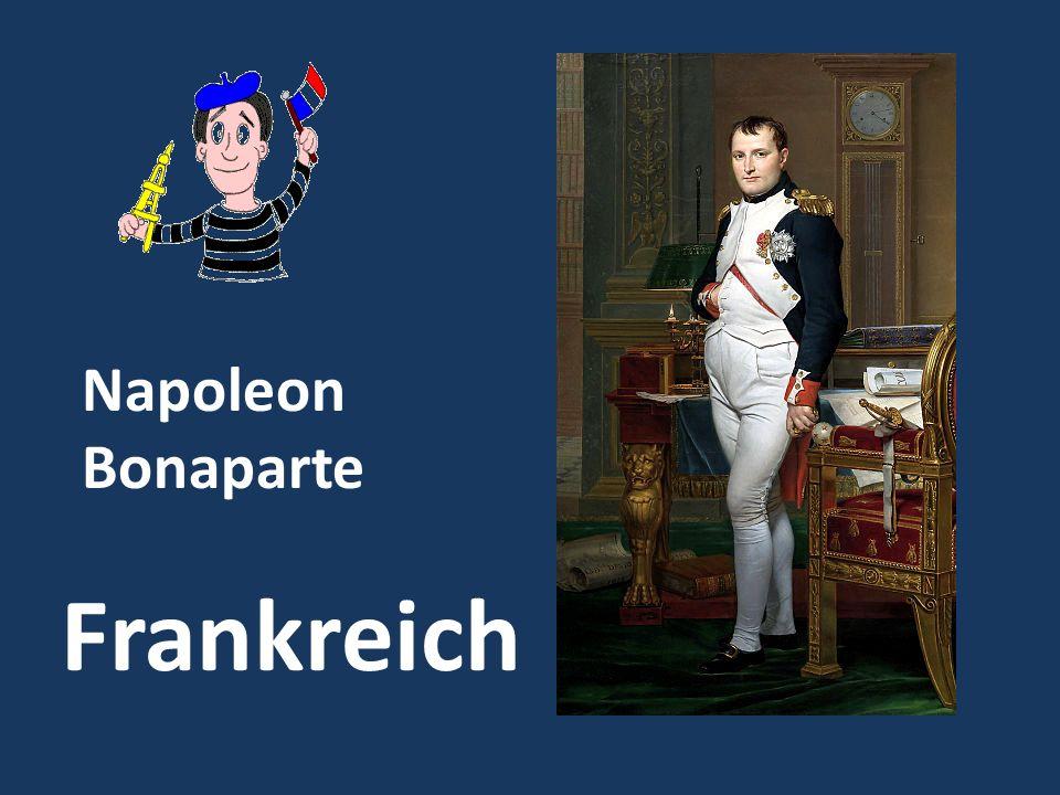 Napoleon Bonaparte Frankreich