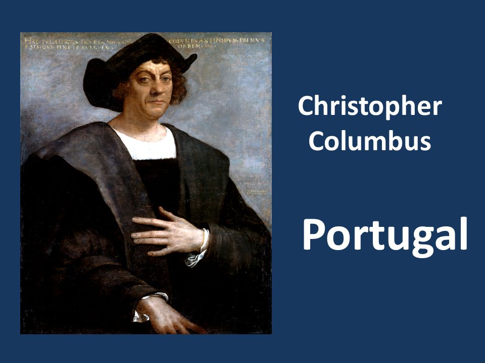 Christopher Columbus Portugal
