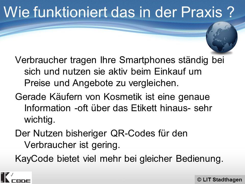 © LIT Stadthagen Verbraucher tragen Ihre Smartphones ständig bei sich und nutzen sie aktiv beim Einkauf um Preise und Angebote zu vergleichen.