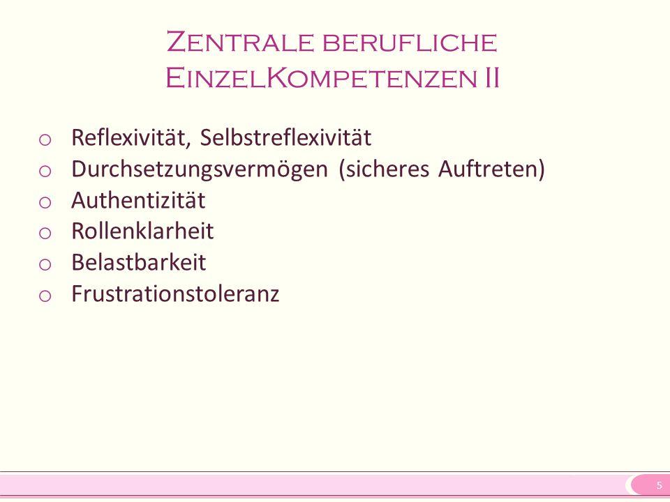 6 Anstellungsträger o Öffentliche Träger der Sozialen Arbeit z.B.