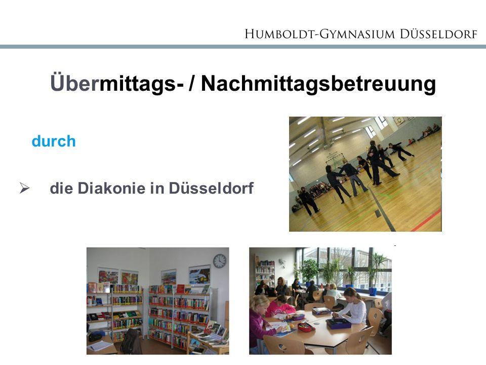 Übermittags- / Nachmittagsbetreuung durch  die Diakonie in Düsseldorf