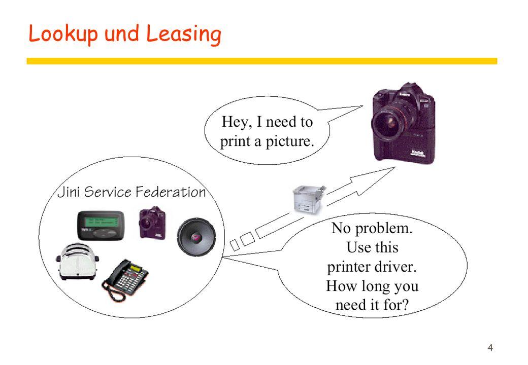 4 Lookup und Leasing