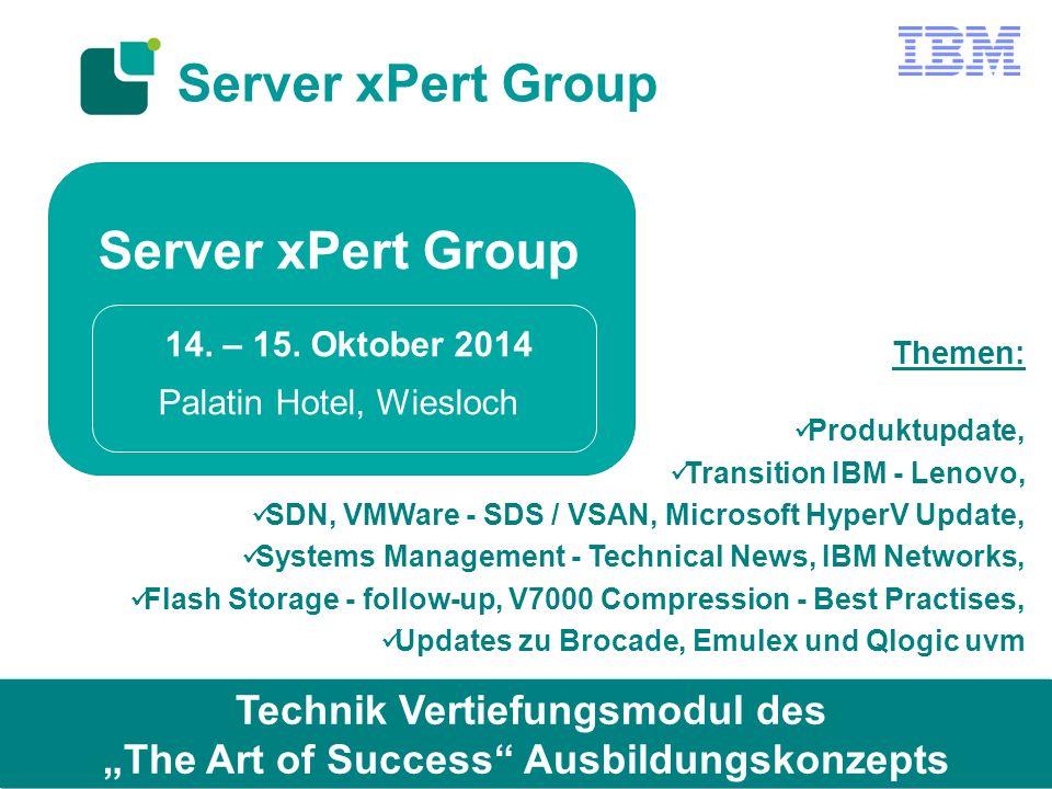 Server xPert Group 14.– 15.