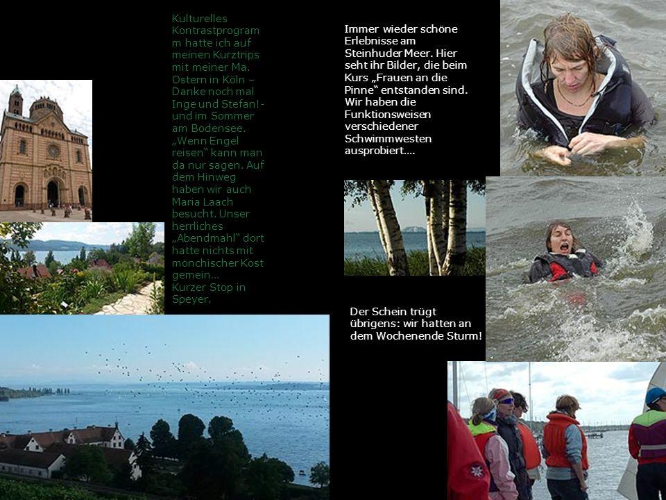 Kulturelles Kontrastprogram m hatte ich auf meinen Kurztrips mit meiner Ma. Ostern in Köln – Danke noch mal Inge und Stefan!- und im Sommer am Bodense