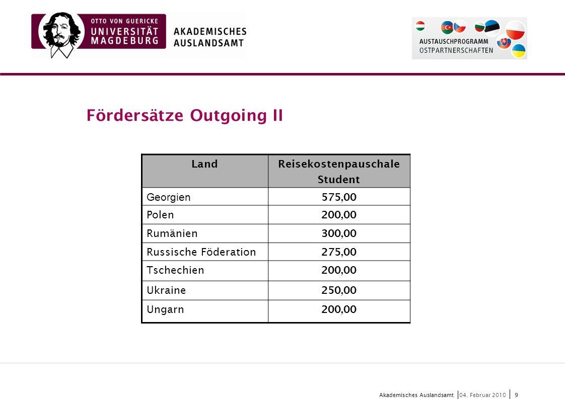 10 Akademisches Auslandsamt10 04.
