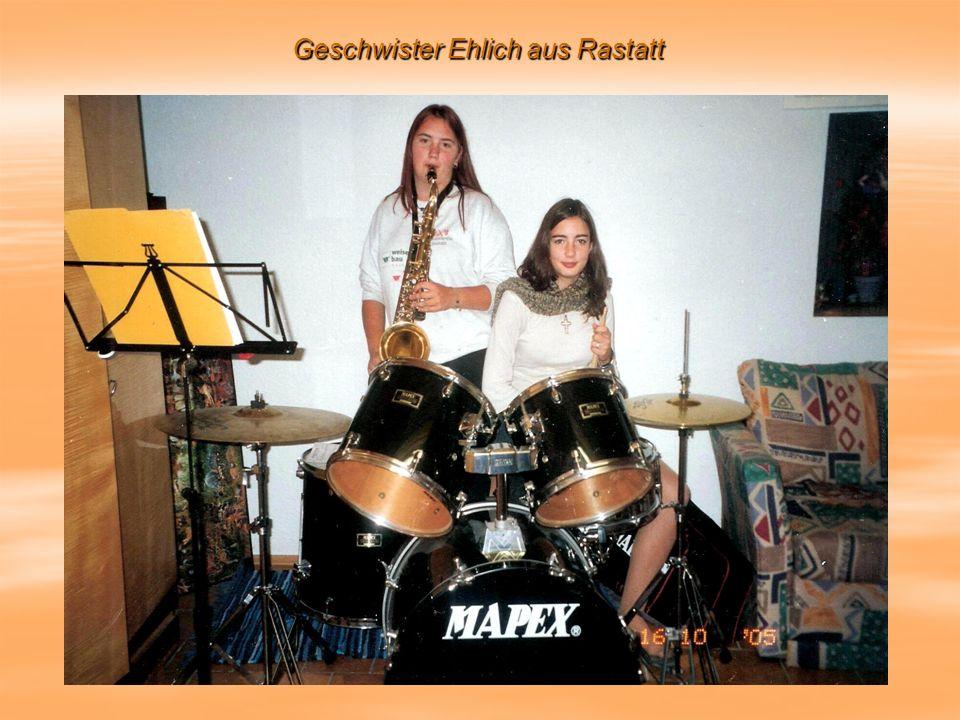 Geschwister Ehlich aus Rastatt