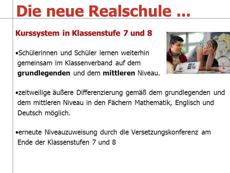 Die neue Realschule...