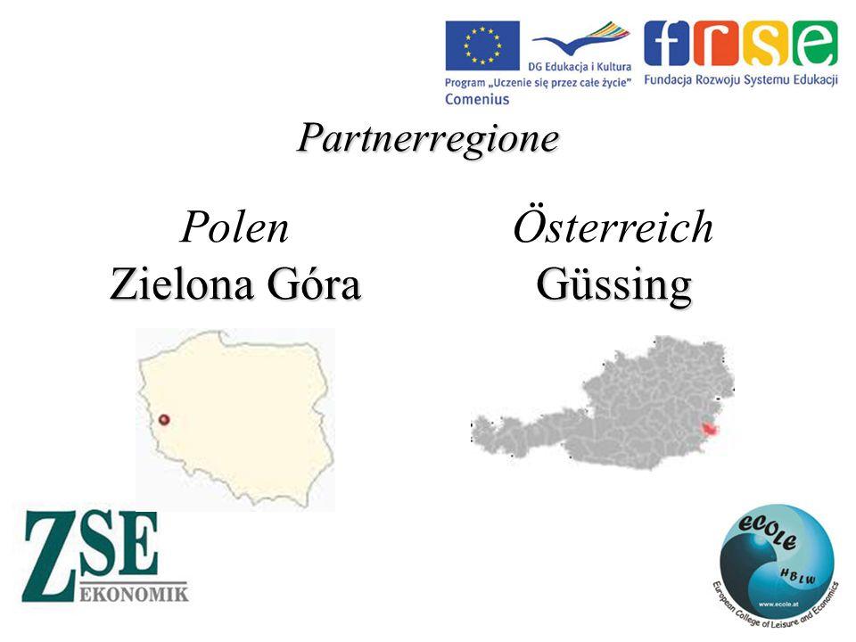 Partnerregione Polen Zielona Góra ÖsterreichGüssing
