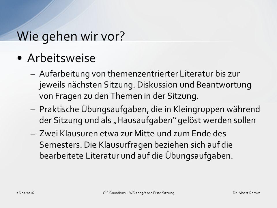 Literaturaufgabe –Vorgegebene Texte/Quellen lesen –ggf.
