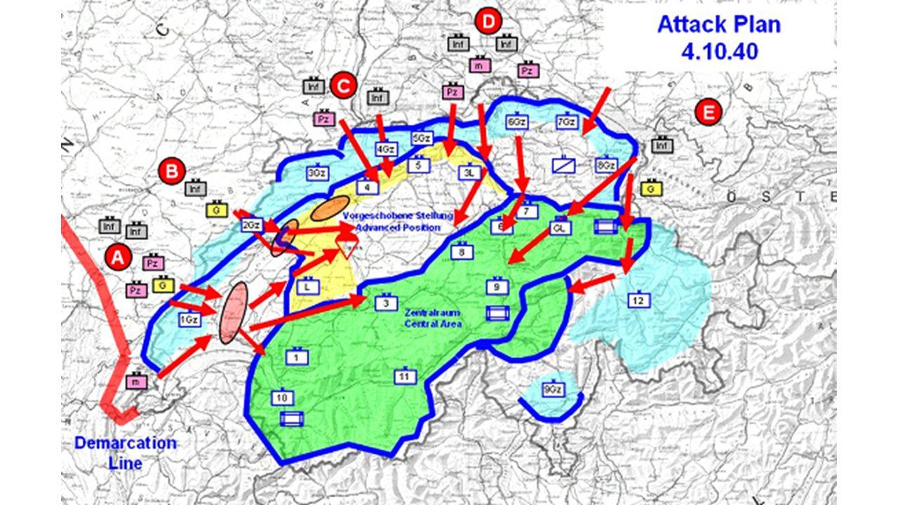 Warum wurde die Schweiz im 2.Weltkrieg von den Deutschen nicht angegriffen.
