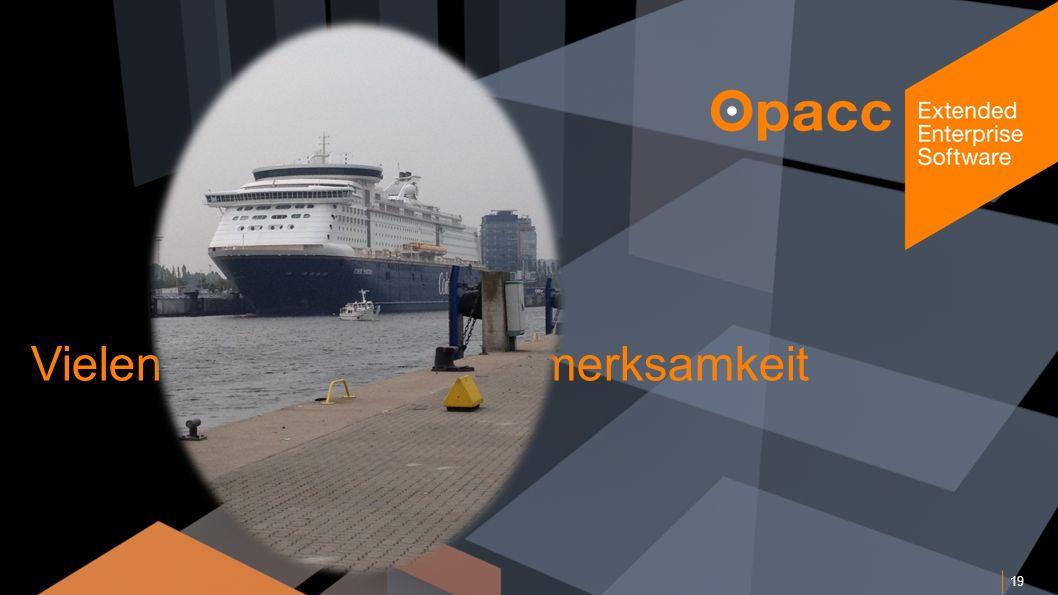 Opacc, CH-Kriens/LucerneOpaccConnect 201430.10.2014 Vielen Dank für Ihre Aufmerksamkeit 19