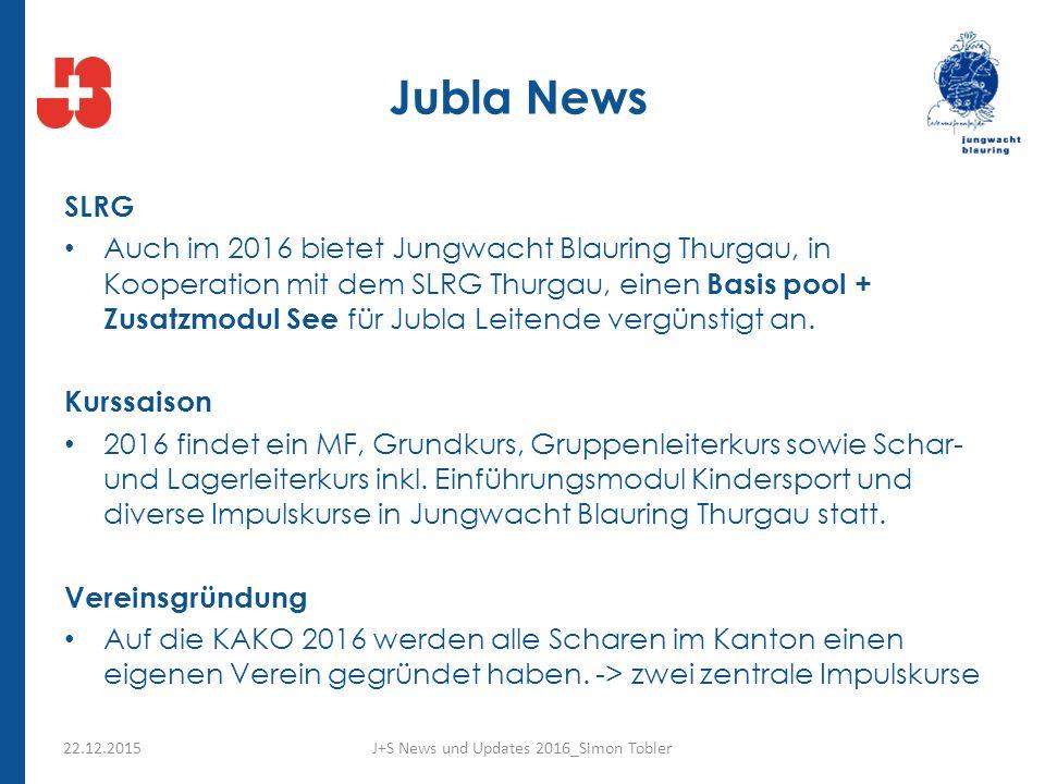 Jubla News SLRG Auch im 2016 bietet Jungwacht Blauring Thurgau, in Kooperation mit dem SLRG Thurgau, einen Basis pool + Zusatzmodul See für Jubla Leitende vergünstigt an.
