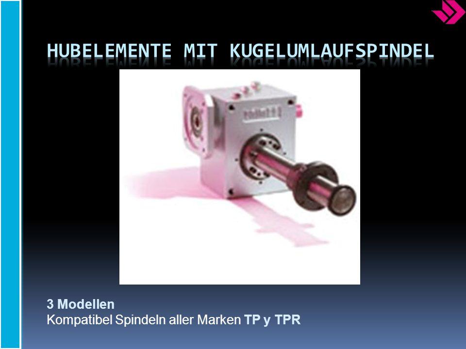 3 Modellen Kompatibel Spindeln aller Marken TP y TPR