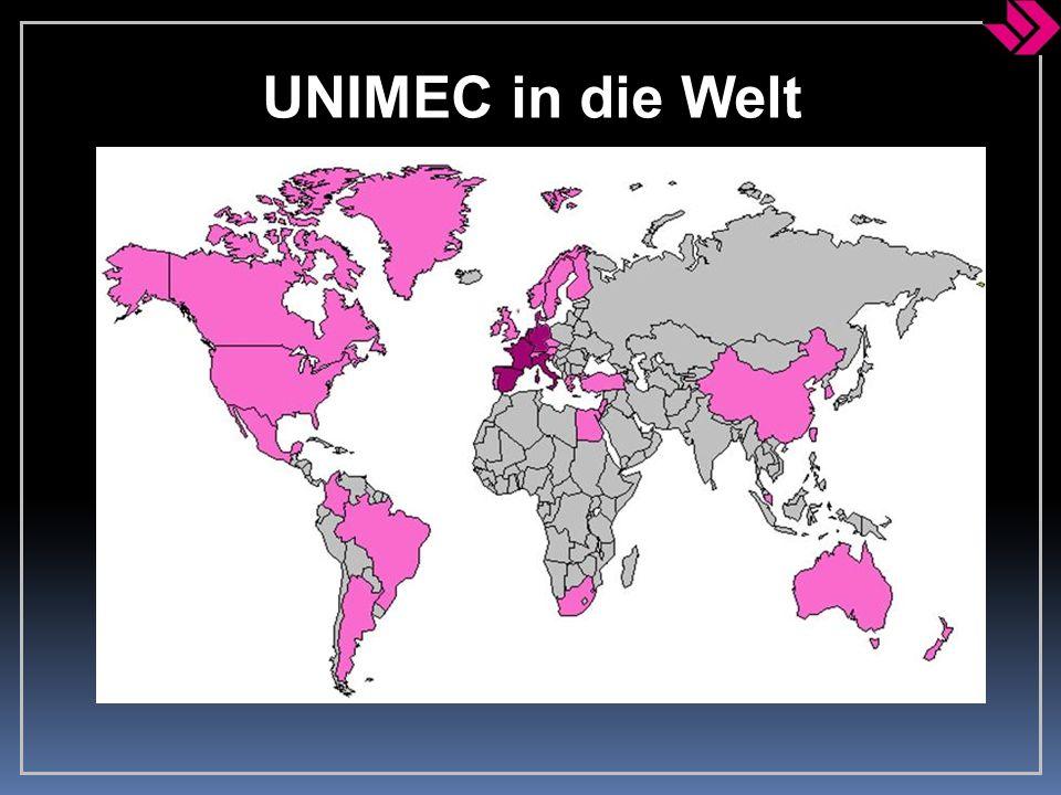 UNIMEC in die Welt