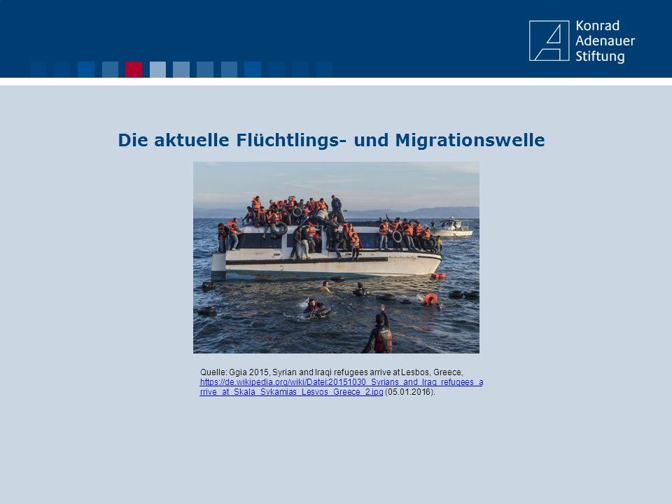 Die Flüchtlingszahlen steigen weiter