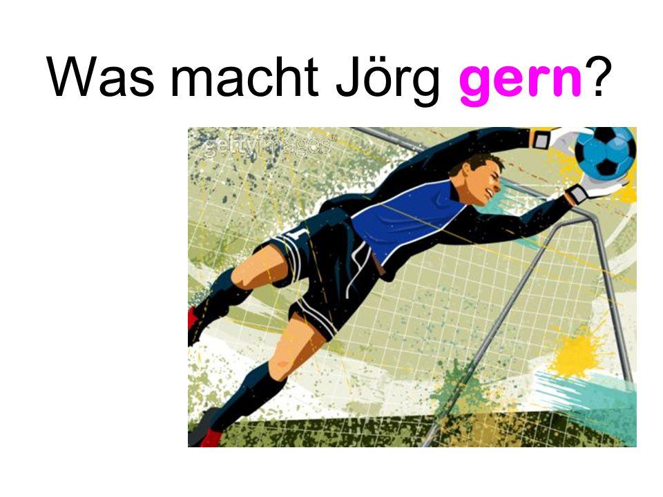 Was macht Jörg gern ?