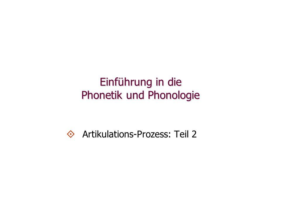 Länge Im Englischen und Deutschen spielt das Attribut Länge eine Rolle bei der Charakterisierung von Vokalartikulationen: engl.