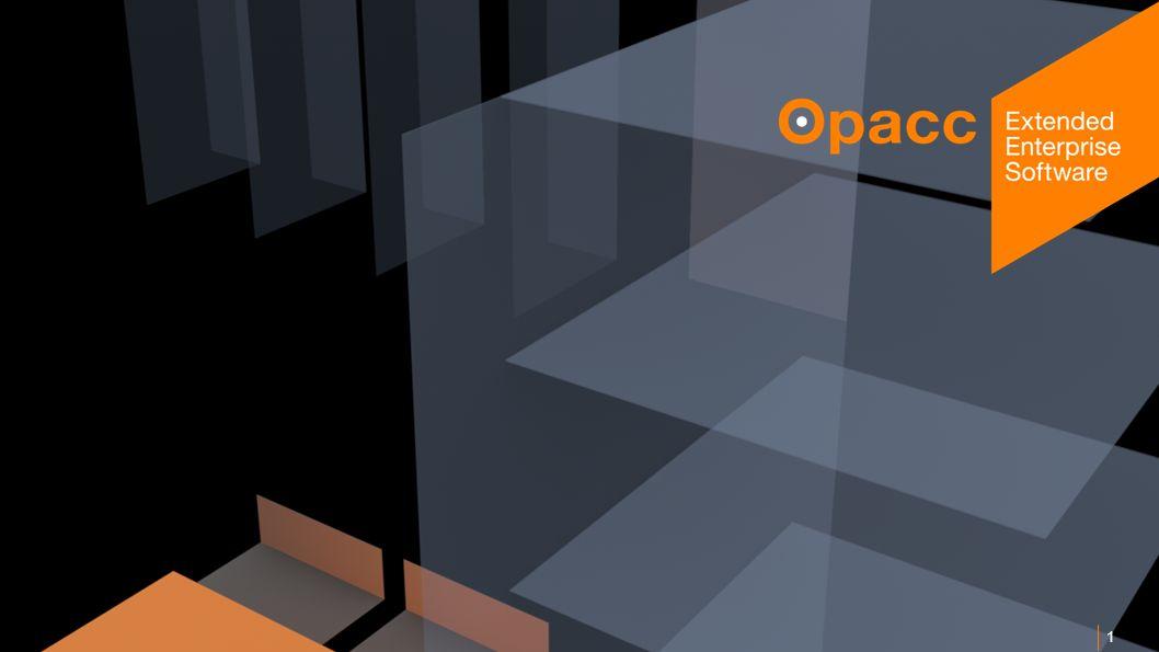 Opacc, CH-Kriens/LucerneOpaccConnect 201430.10.2014 1