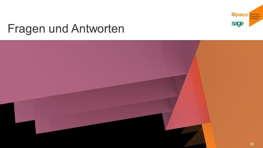 Opacc, CH-Kriens/LucerneOpaccConnect 201430.10.2014 28 Fragen und Antworten