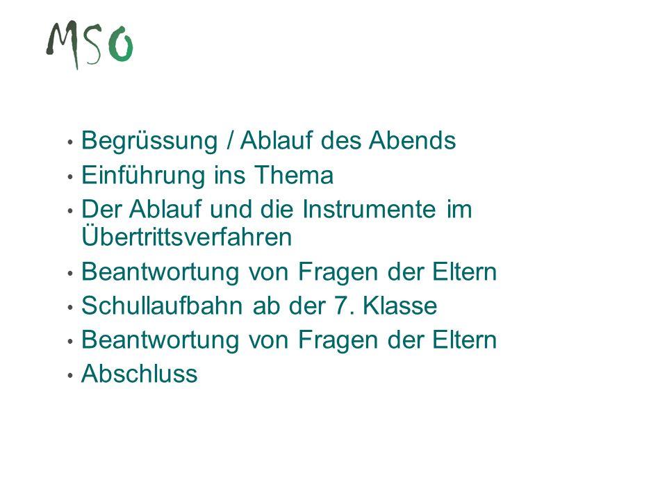 13 Übertrittsbericht Der Übertrittsbericht enthält eine Beurteilung zur Sachkompetenz (= Leistungen) in den Fächern Deutsch, Französisch und Mathematik zum Arbeits- und Lernverhalten in allen Fächern