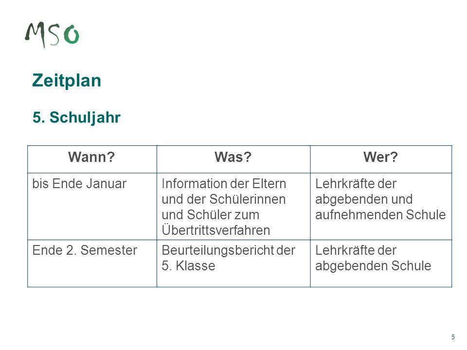 16 Zuweisungsantrag Der Zuweisungsantrag basiert auf folgenden Grundlagen: Beurteilungsbericht des 5.