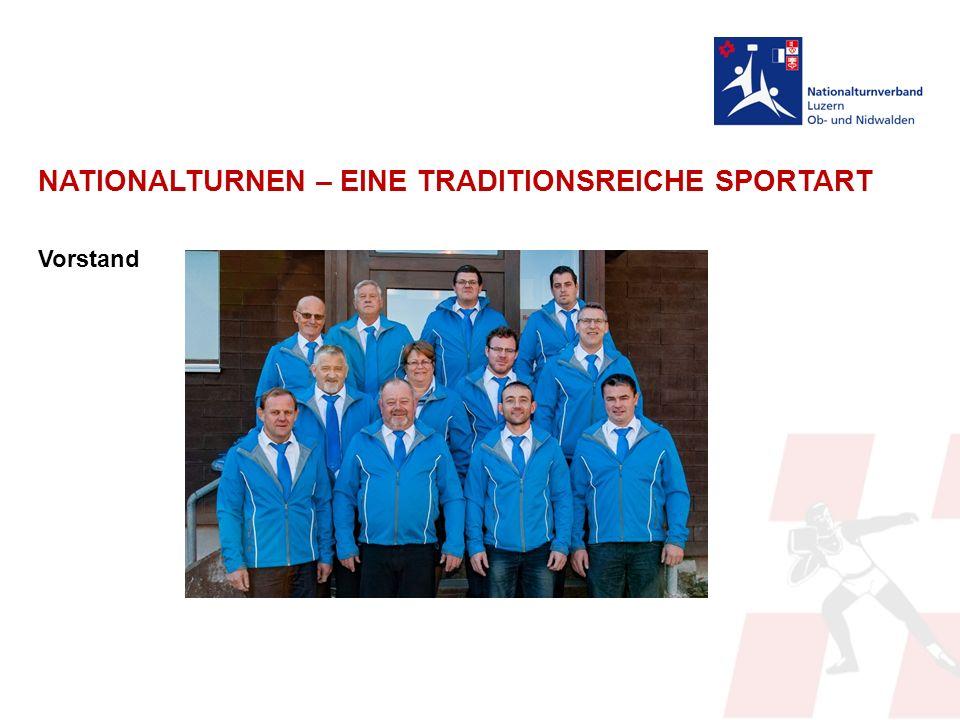 NATIONALTURNEN – EINE TRADITIONSREICHE SPORTART Vorstand