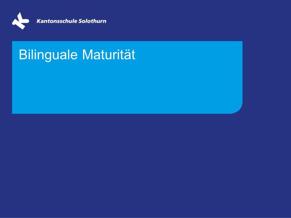 Bilinguale Maturität