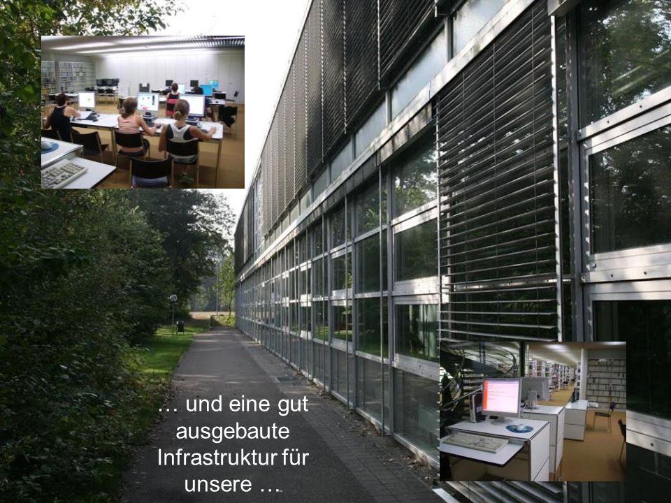 KS Solothurn KSSO Stefan Zumbrunn-Würsch, Direktor … und eine gut ausgebaute Infrastruktur für unsere …