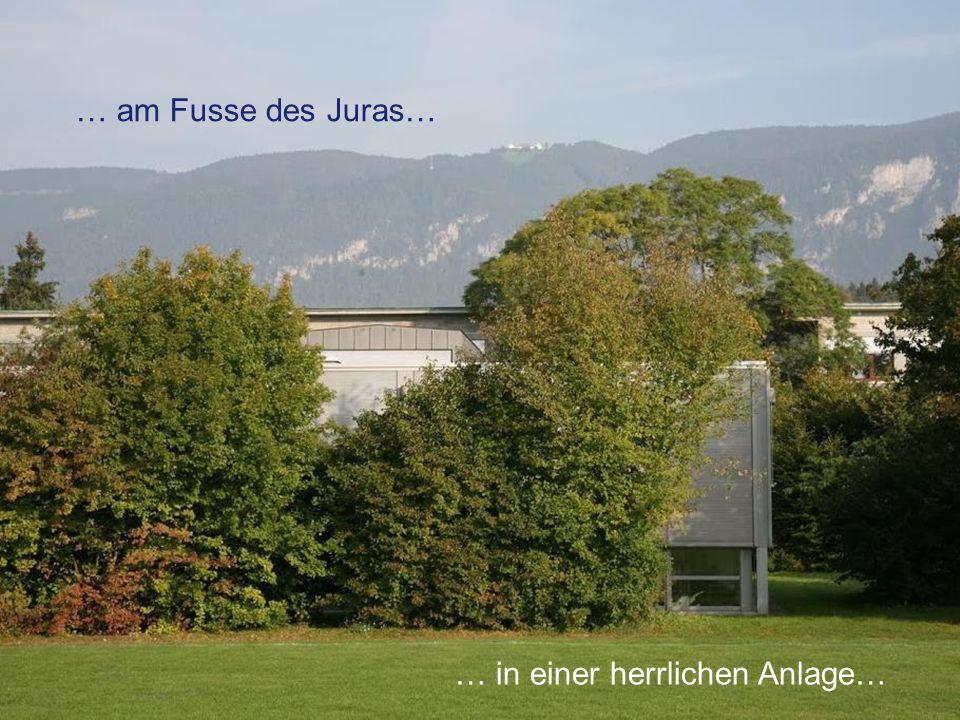 KS Solothurn KSSO Stefan Zumbrunn-Würsch, Direktor … am Fusse des Juras… … in einer herrlichen Anlage…