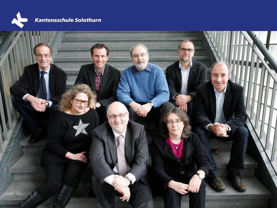 Organisation und Schulleitung Stefan Zumbrunn-Würsch Rektor Dr. Peter Berger Konrektor Gymnasium Sprachliche und musische Schwerpunktfächer Dr. Dieter