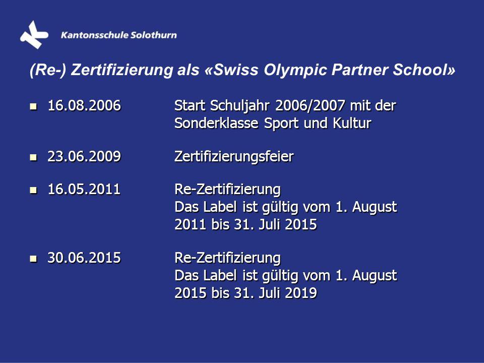 16.08.2006Start Schuljahr 2006/2007 mit der Sonderklasse Sport und Kultur 16.08.2006Start Schuljahr 2006/2007 mit der Sonderklasse Sport und Kultur 23
