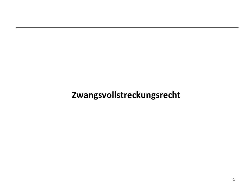 Pfändungsverbote § 811 ZPO 1 Gläubigeranspruch / Schuldnerschutz Liste des § 811 Abs.