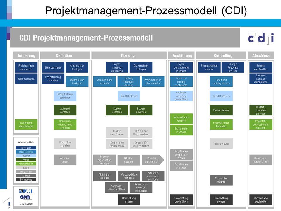 Projektmanagement-Prozessmodell (CDI) 6