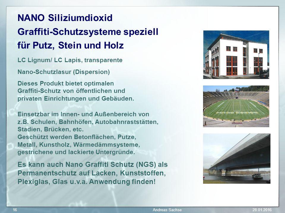 NANO Siliziumdioxid Graffiti-Schutzsysteme speziell für Putz, Stein und Holz LC Lignum/ LC Lapis, transparente Nano-Schutzlasur (Dispersion) Dieses Pr