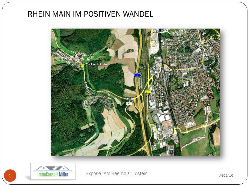 RHEIN MAIN IM POSITIVEN WANDEL AG02/16 Exposé Am Beerholz , Idstein C