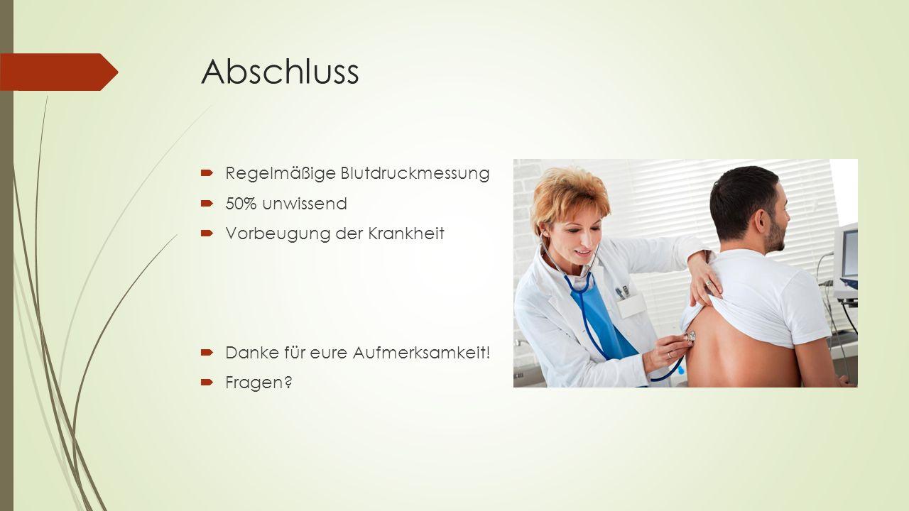 Quellen  http://s.ndimg.de/image_gallery/new_netdoktor/17/bluthochdruck-1- jpg_id_80845_245017.jpg  http://praktischer-arzt.com/wp-content/uploads/2012/04/Bluthochdruck.jpg  http://www.netdoktor.de/krankheiten/bluthochdruck/  http://www.internisten-im-netz.de/de_was-ist-bluthochdruck_150.html  http://www.medizin-welt.info/wissen/Was-heisst-mmHg/7  http://www.apotheken-umschau.de/Bluthochdruck/Bluthochdruck-Hypertonie-Ursachen- und-Risikofaktoren-18900_2.html  http://www.gesundheit.de/krankheiten/gefaesserkrankungen/bluthochdruck- hypertonie/bluthochdruck-symptome-und-komplikationen  http://www.gesundheit-krankheiten.de/images/krankheiten_ohnmacht.jpg  http://www.zurrose.at/media/media-zurrose-at/lp/vorsorgeuntersuchung_mann.jpg  http://www.meinherzdeinherz.info/Images/Arteriosklerose.jpg