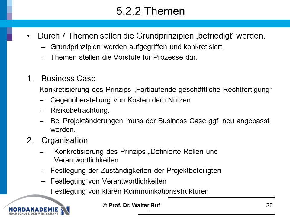 """5.2.2 Themen Durch 7 Themen sollen die Grundprinzipien """"befriedigt"""" werden. –Grundprinzipien werden aufgegriffen und konkretisiert. –Themen stellen di"""