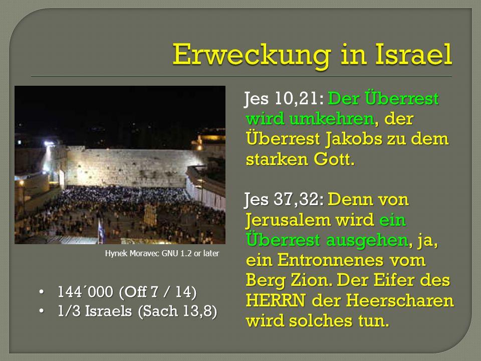 Der Überrest wird umkehren, der Überrest Jakobs zu dem starken Gott. Jes 10,21: Der Überrest wird umkehren, der Überrest Jakobs zu dem starken Gott. J
