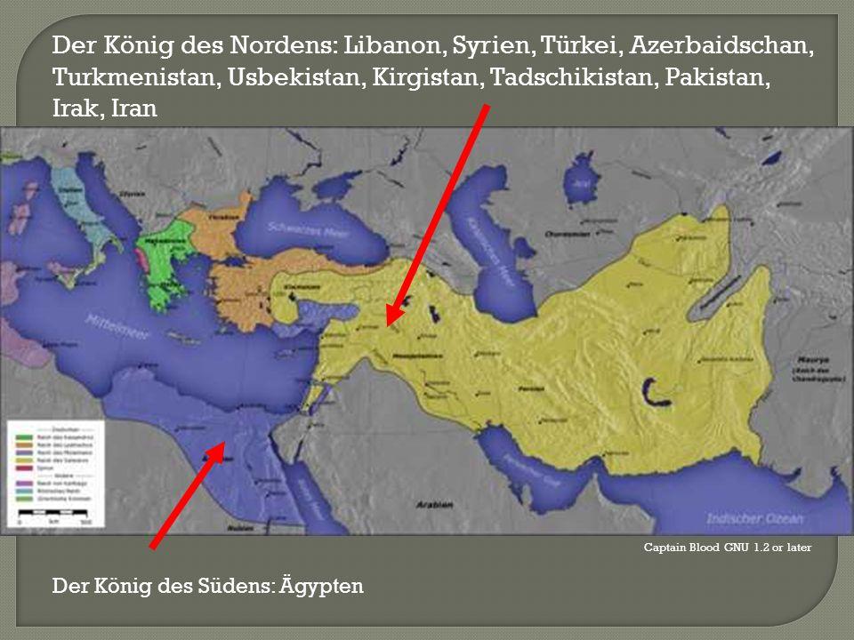 Captain Blood GNU 1.2 or later Der König des Südens: Ägypten Der König des Nordens: Libanon, Syrien, Türkei, Azerbaidschan, Turkmenistan, Usbekistan,