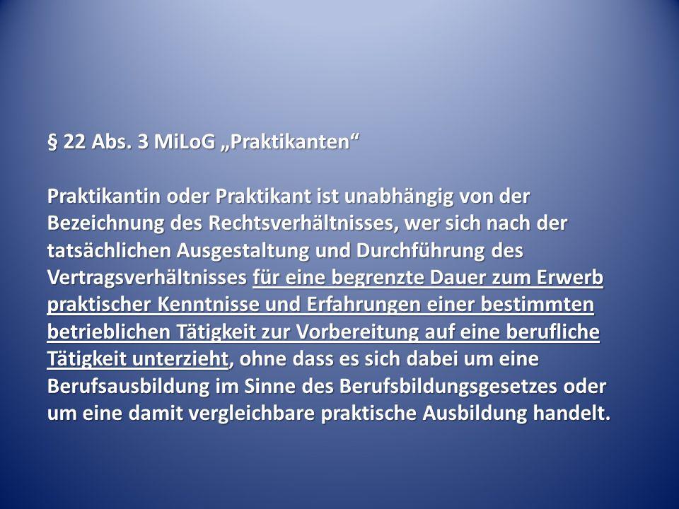 Einstiegsqualifikanten - § 22 I Nr.